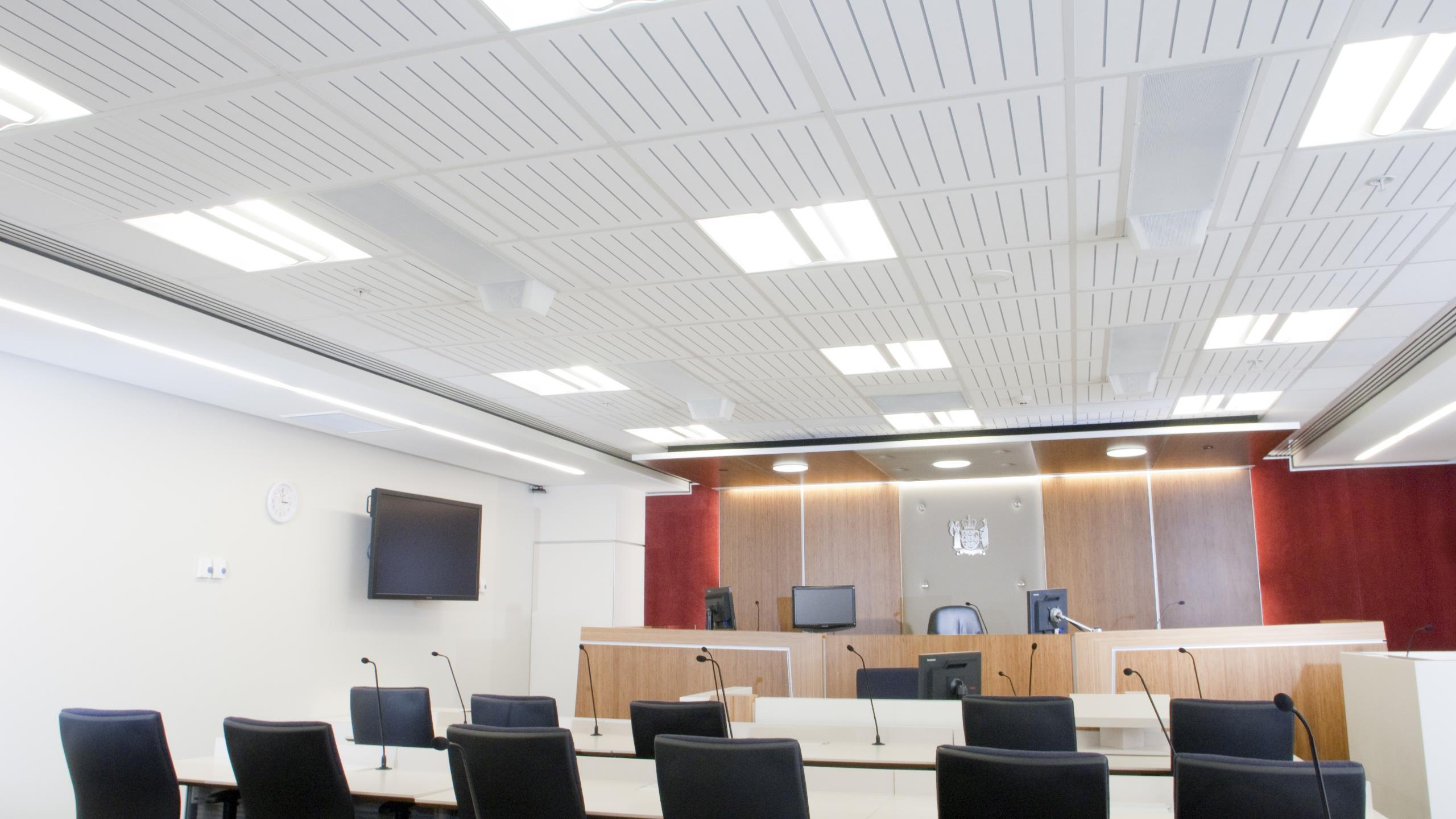 Auckland District Courts - Triton Duo 60 + Sonaris S7