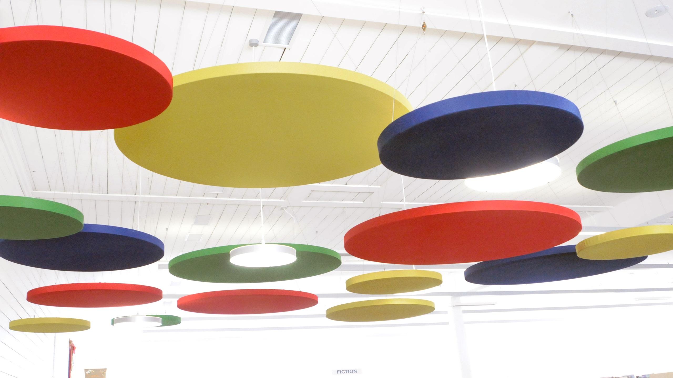 Carterton Events Centre - Triton Sound Shapes, Circles