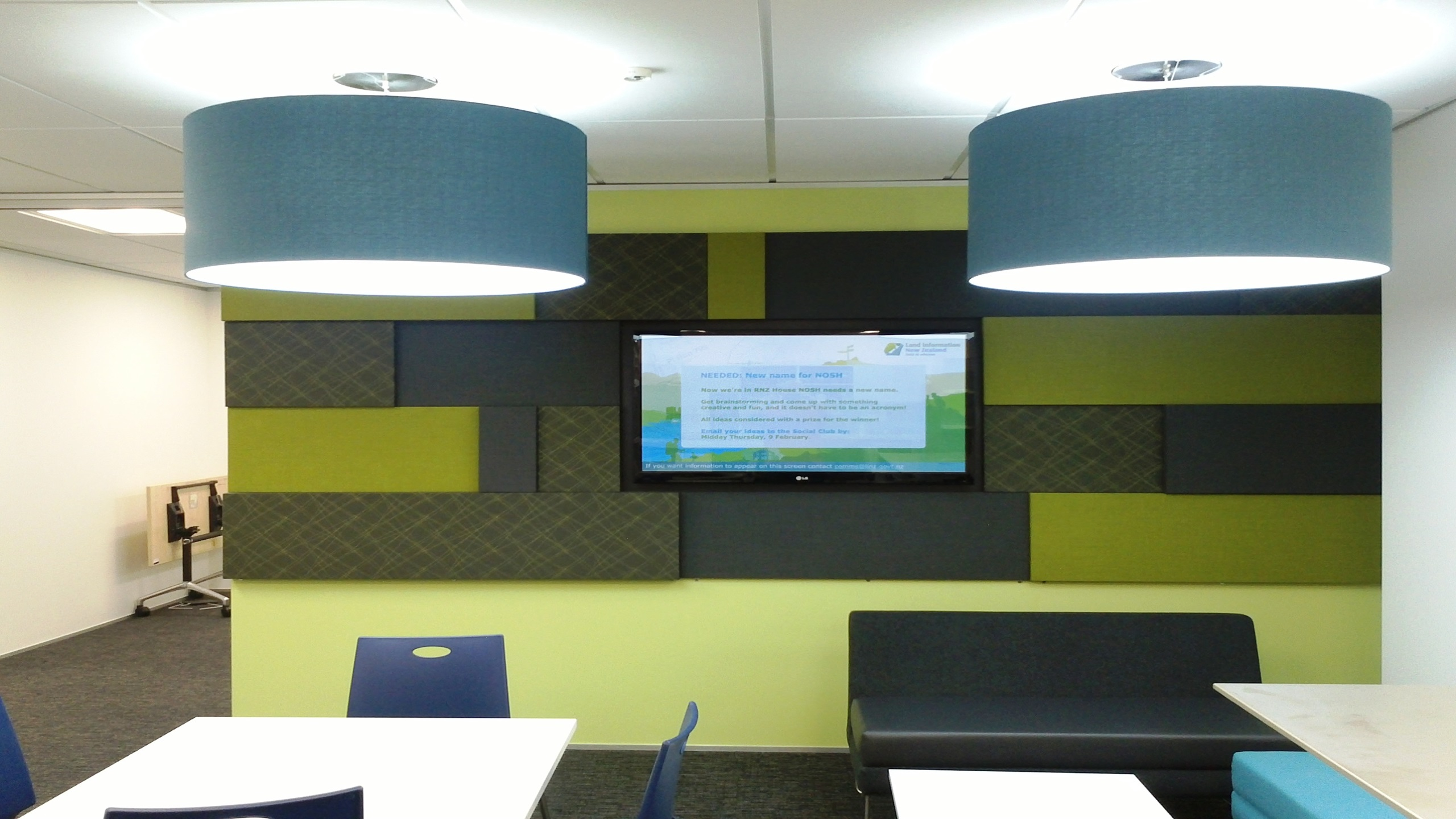 ASB Meeting Rooms -  Triton Fabwall 3D