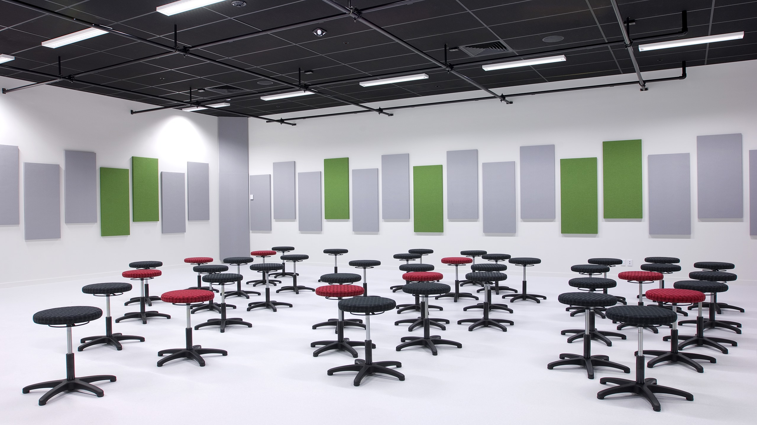 Hobsonville Secondary School Music room - Avant 25 Theatre Black