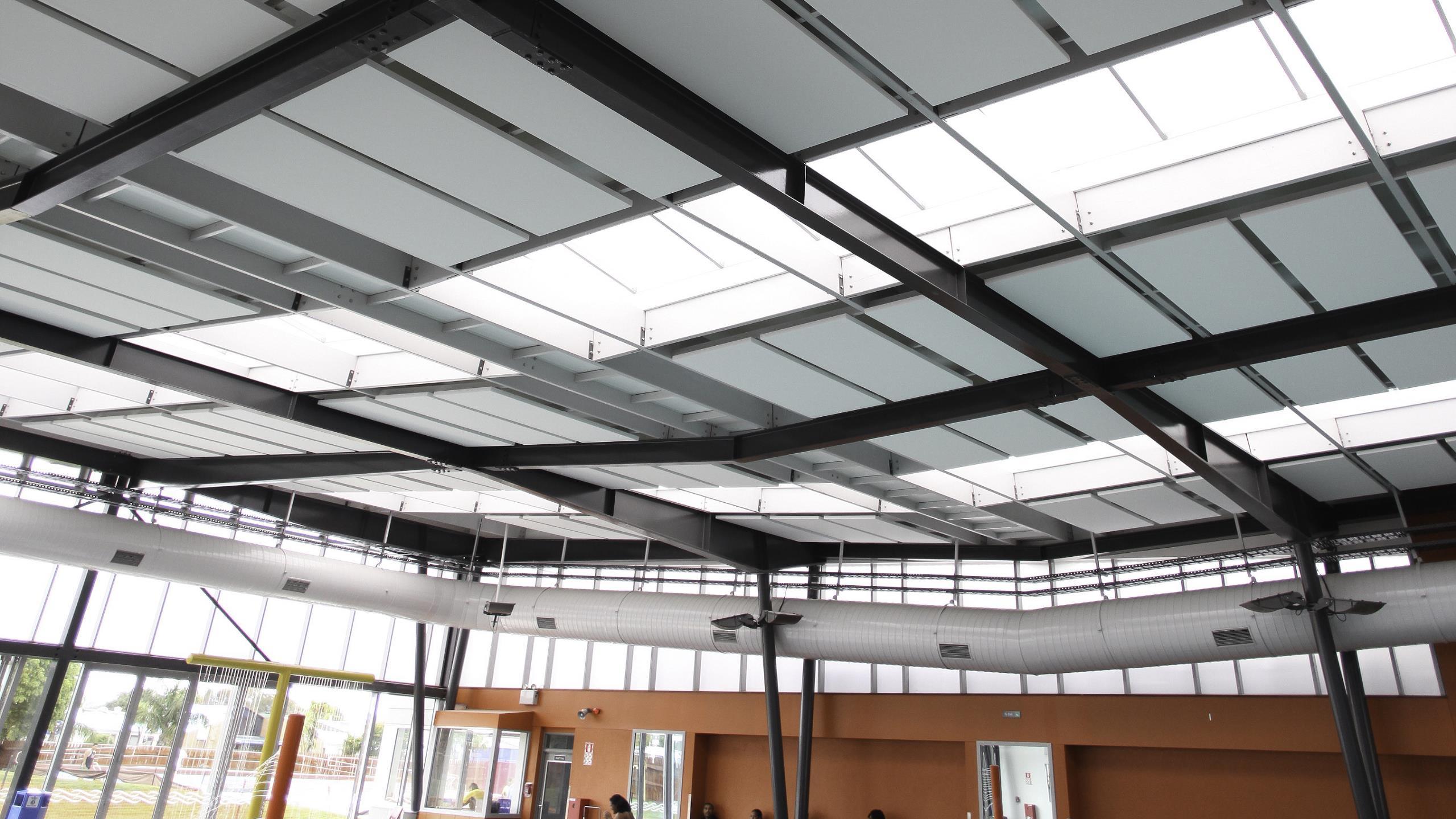 Norman Kirk Memorial Swimming Pool Centre - Triton Cloud Pool Panel
