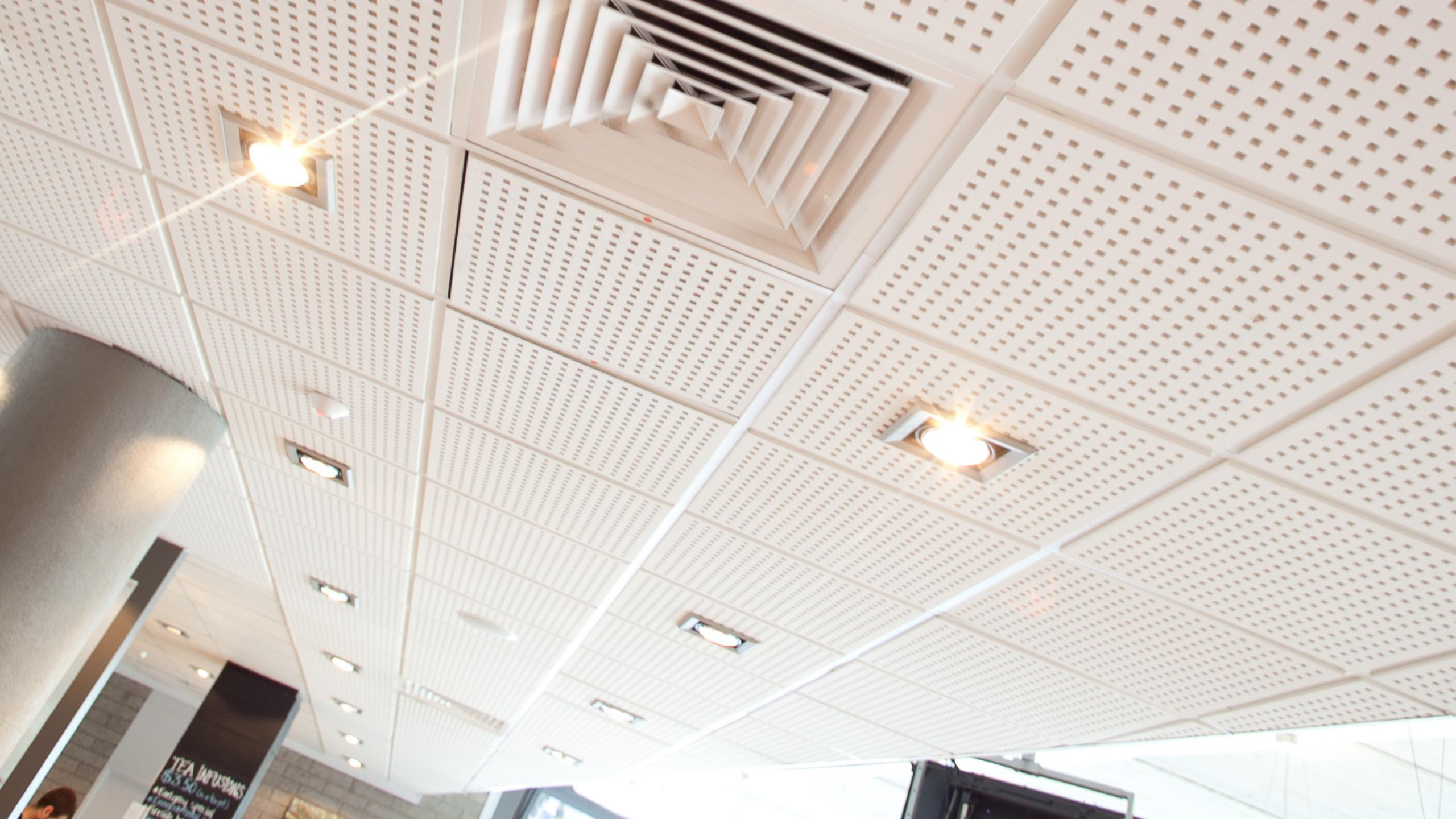 The Parenting Place - Belgravia Q1 perforated plasterboard