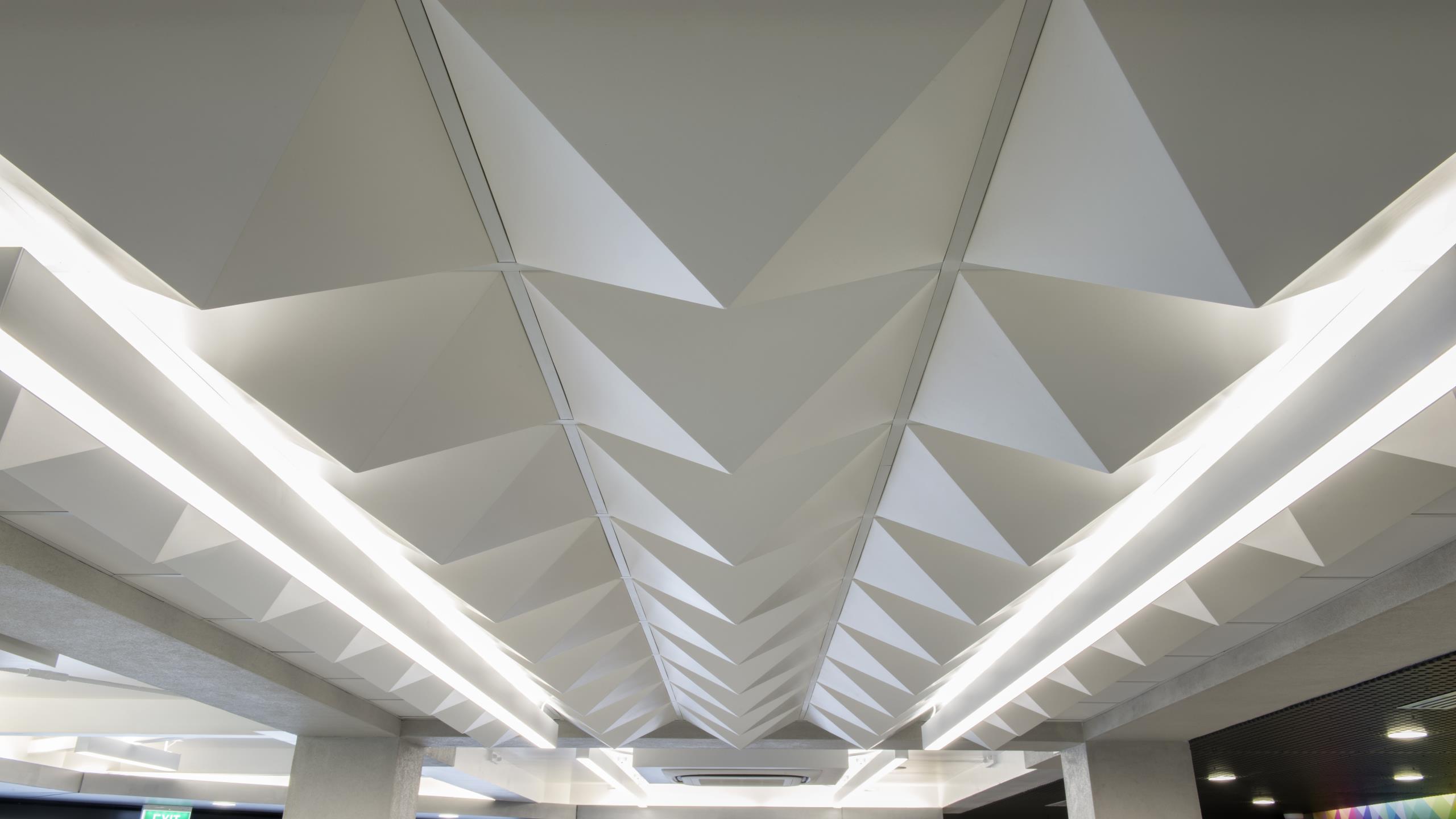 Riccarton Bus Lounge - Pyramid 3D