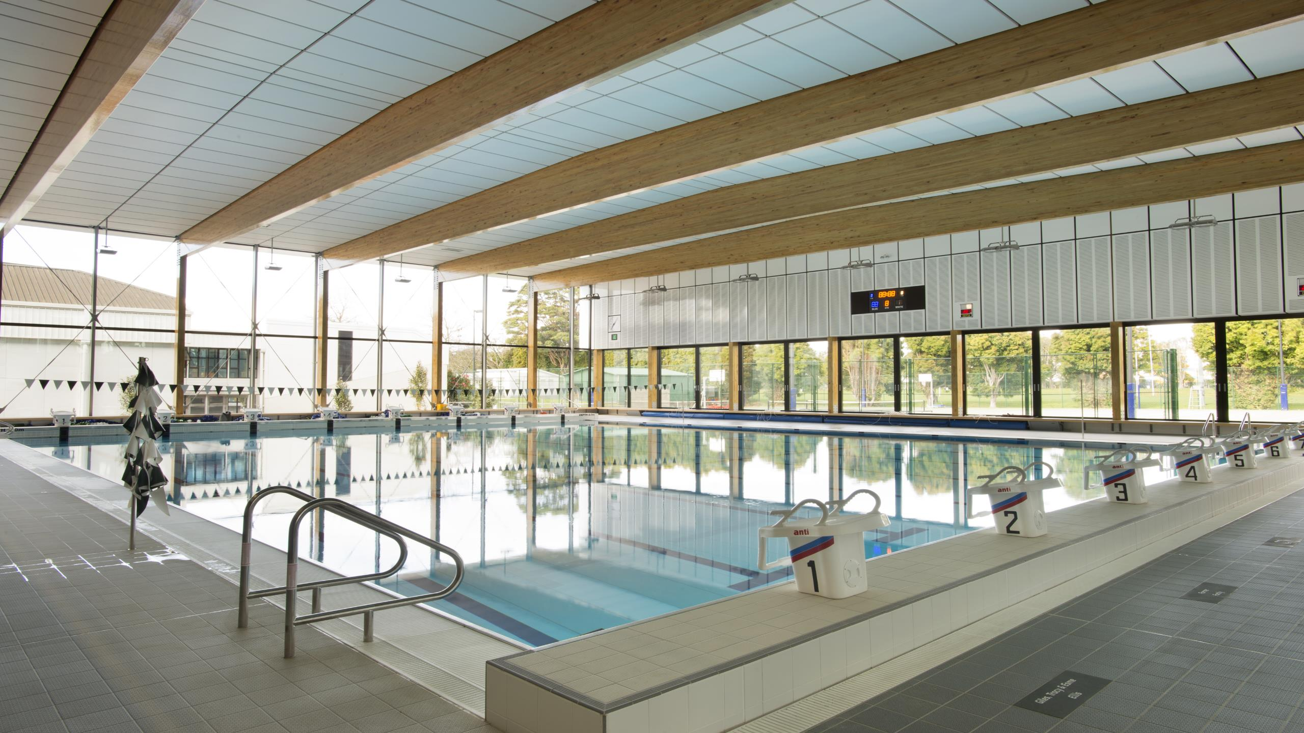 St Cuthberts Girls School Pool - Triton Cloud Pool Panel