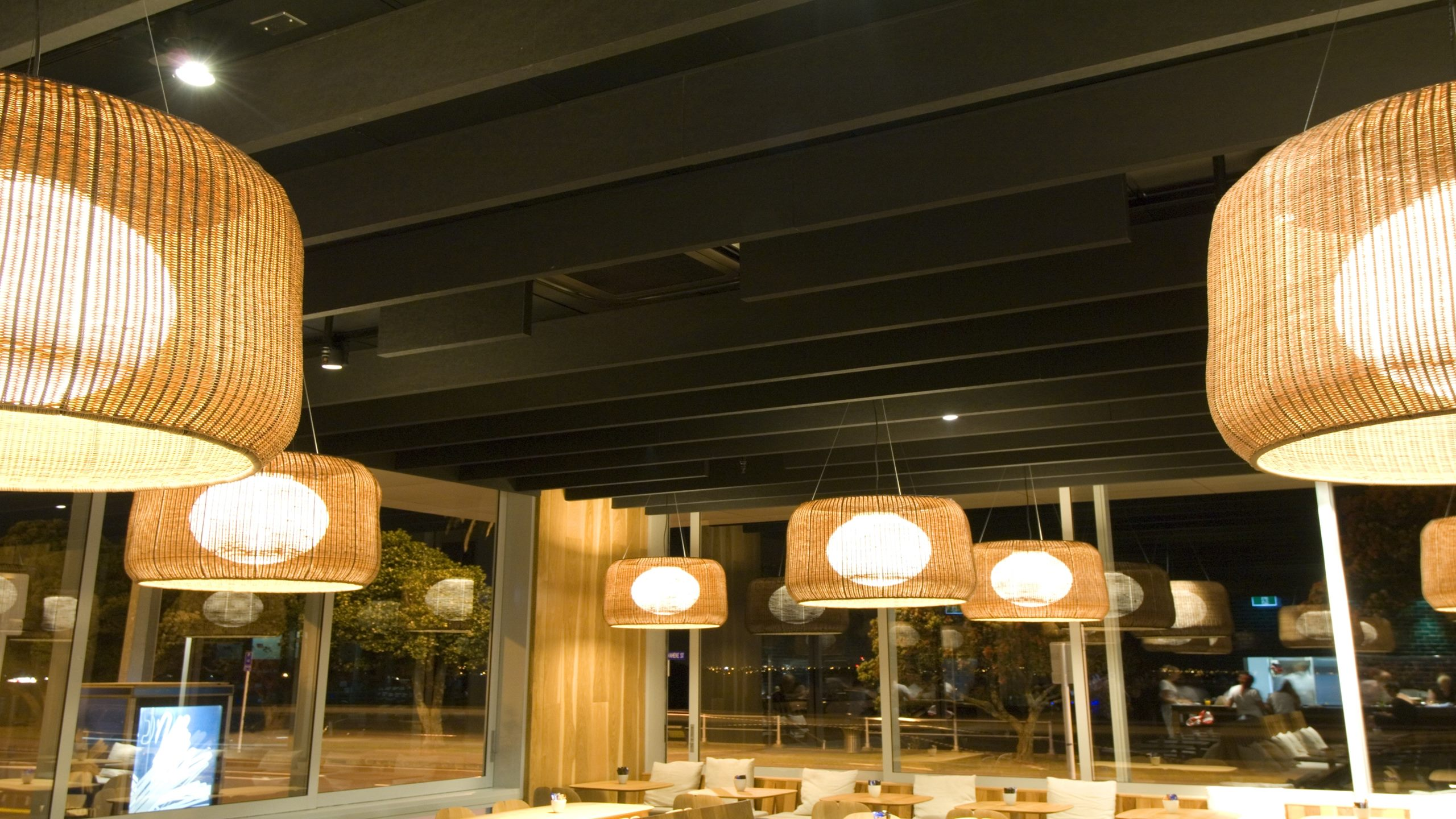 St Heliers Bay Café & Bistro - Baffle Beam